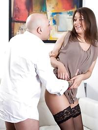 Enjoy nylon sex action — photo 12