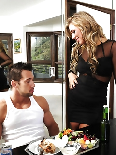 Hardcore sex with stocking girls